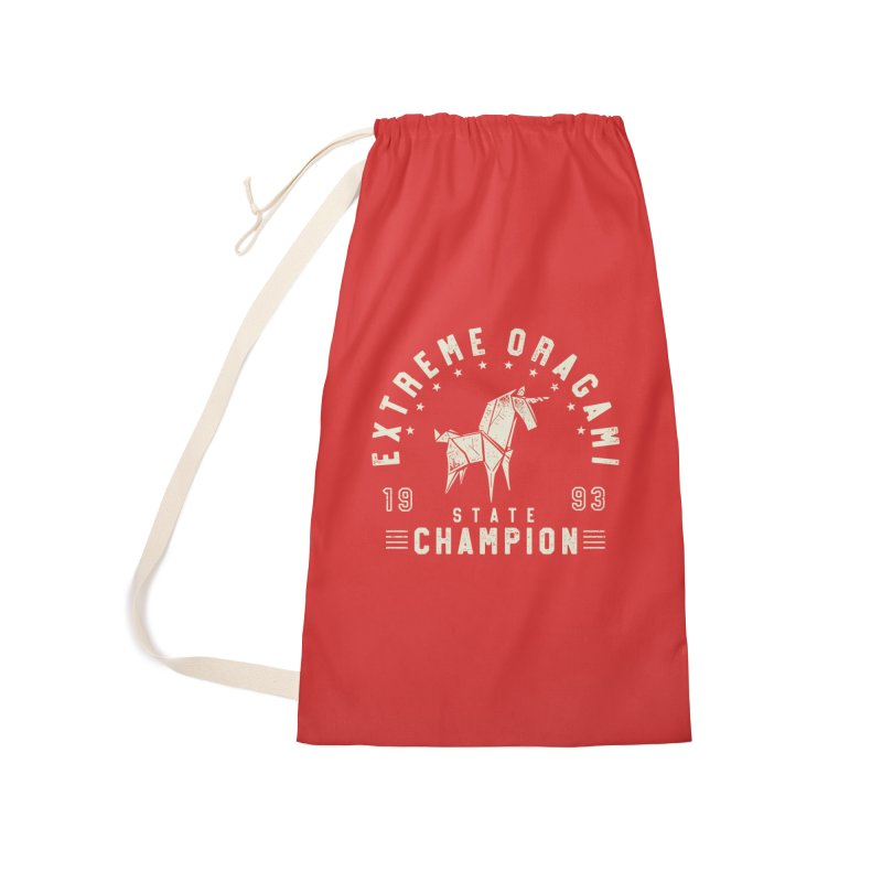 Origami Champion Accessories Bag by Gamma-Ray Designs