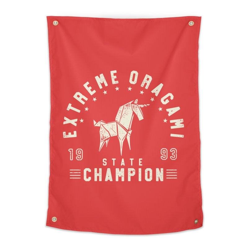 Origami Champion Home Tapestry by Gamma-Ray Designs