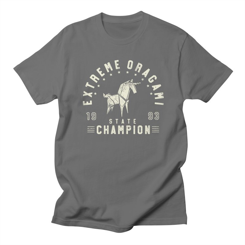 Origami Champion Men's T-Shirt by Gamma-Ray Designs