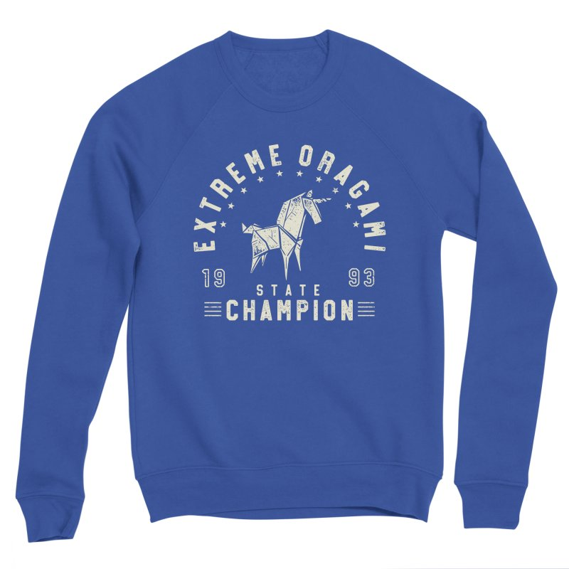 Origami Champion Women's Sweatshirt by Gamma-Ray Designs