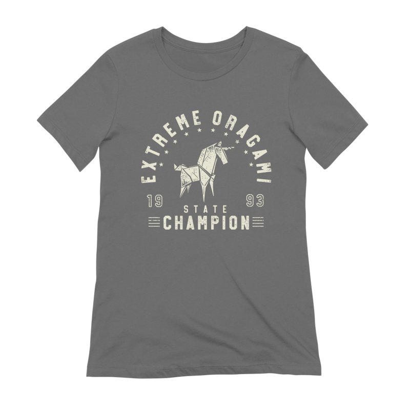 Origami Champion Women's T-Shirt by Gamma-Ray Designs