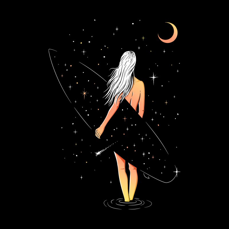 Soul Surfer Women's T-Shirt by Gamma-Ray Designs
