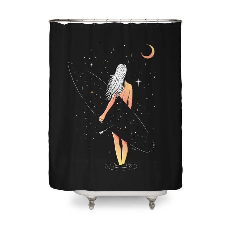 Soul Surfer Home Shower Curtain by Gamma-Ray Designs