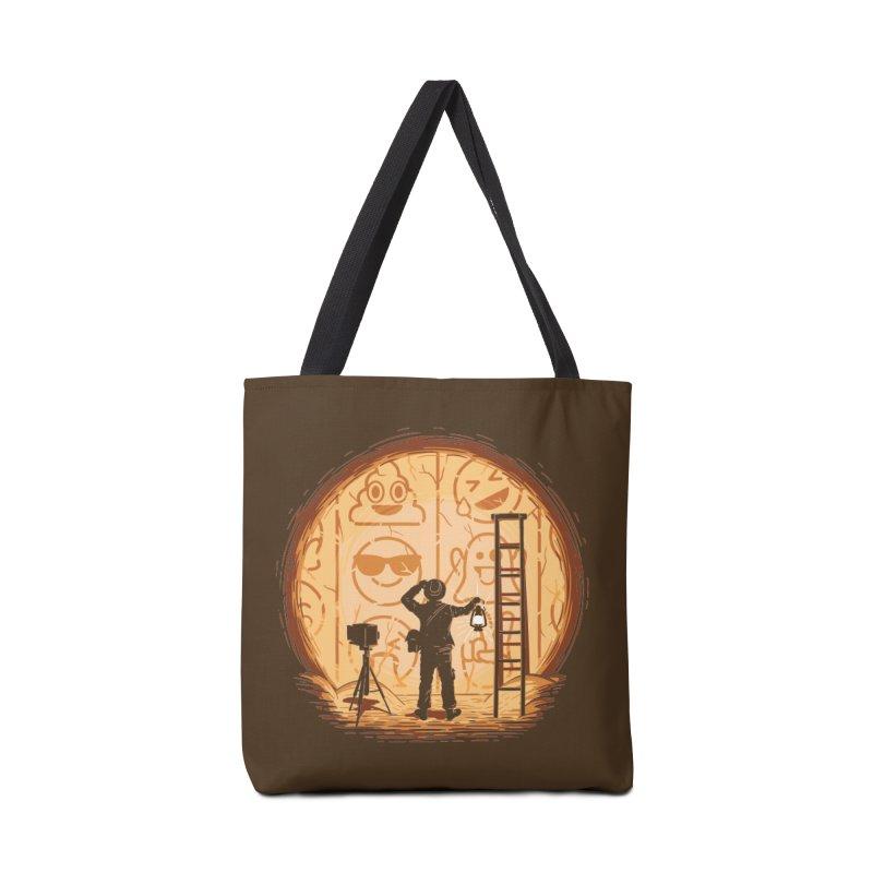 Emoglyphics Accessories Bag by Gamma-Ray Designs