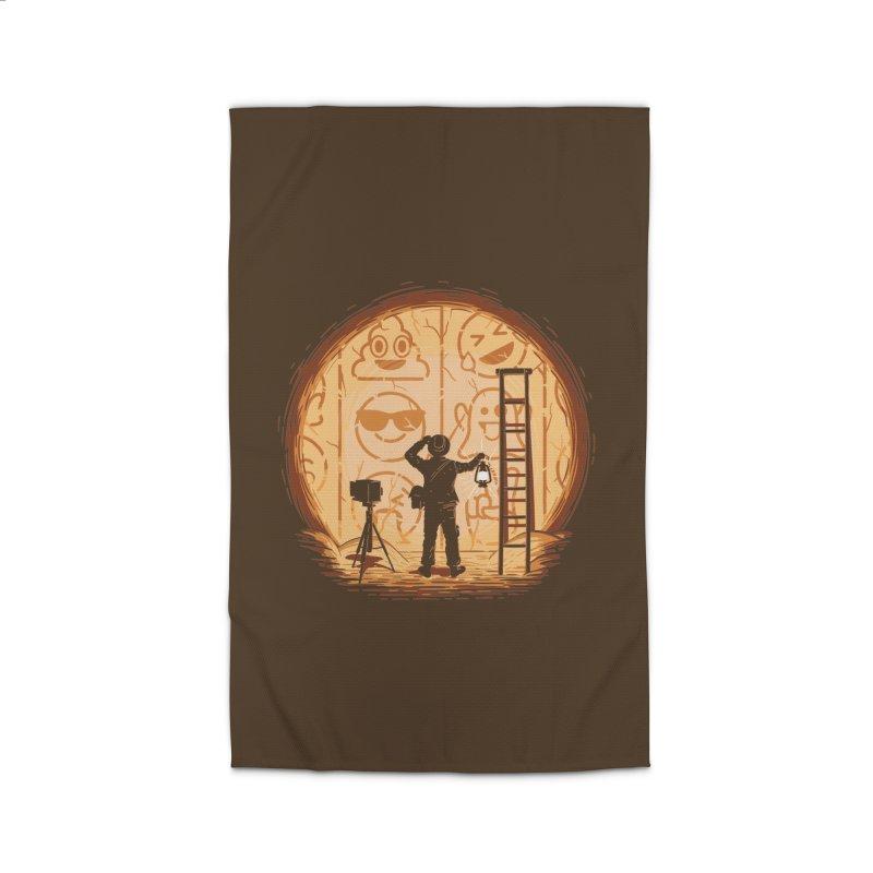 Emoglyphics Home Rug by Gamma-Ray Designs