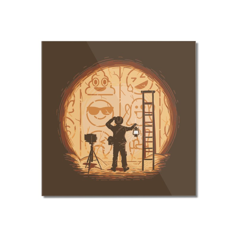 Emoglyphics Home Mounted Acrylic Print by Gamma-Ray Designs