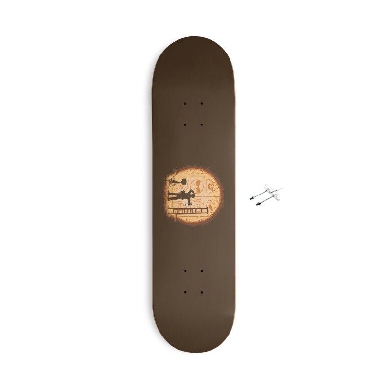 Emoglyphics Accessories Skateboard by Gamma-Ray Designs
