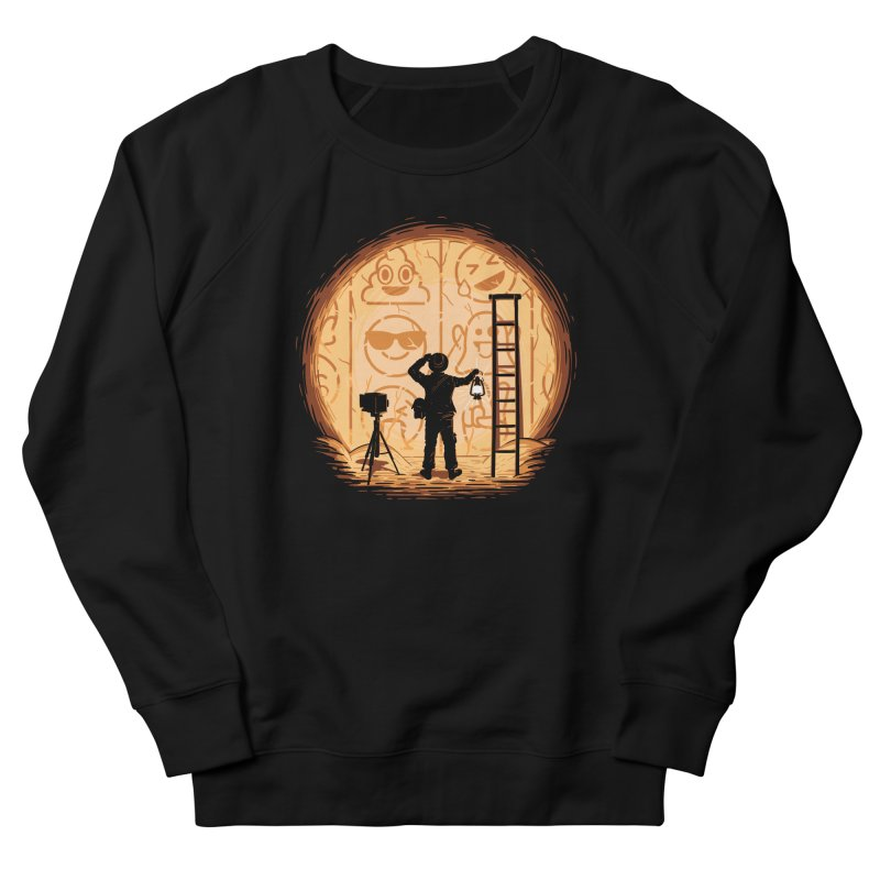 Emoglyphics Women's Sweatshirt by Gamma-Ray Designs