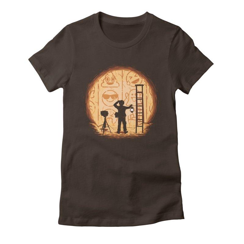 Emoglyphics Women's T-Shirt by Gamma-Ray Designs