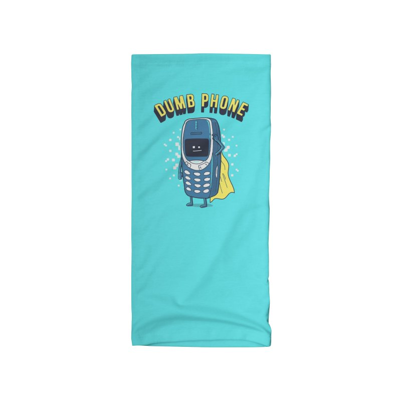 Dumb Phone Accessories Neck Gaiter by Gamma-Ray Designs