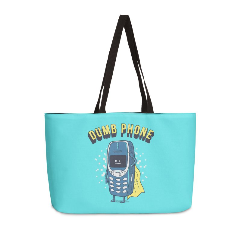 Dumb Phone Accessories Bag by Gamma-Ray Designs