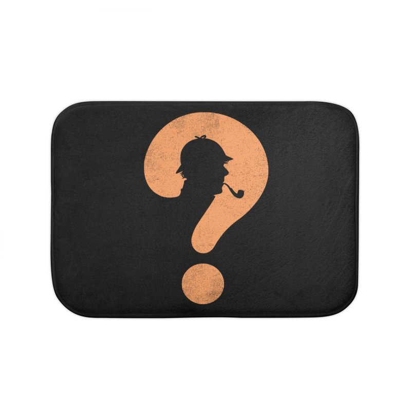 Mystery Home Bath Mat by Gamma-Ray Designs
