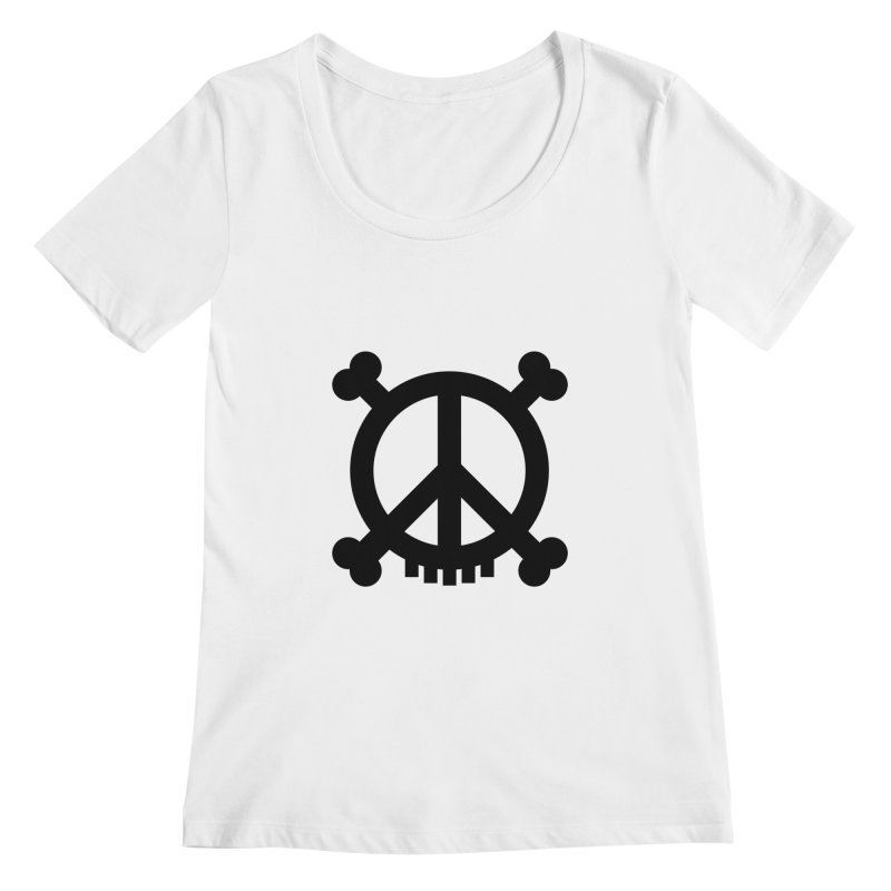 Peaceful Pirate : My Logo (black)   by Stephen Petronis's Shop