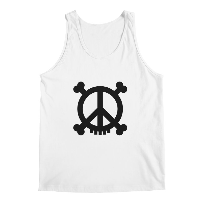 Peaceful Pirate : My Logo (black) Men's Tank by Stephen Petronis's Shop