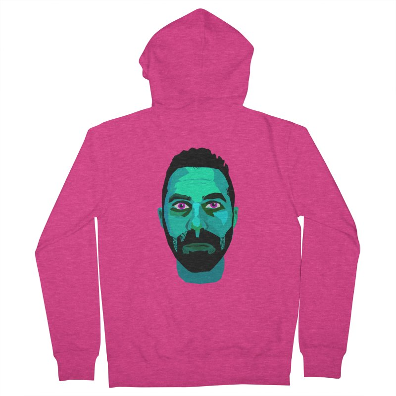 Eric's Face Women's Zip-Up Hoody by Stephen Petronis's Shop