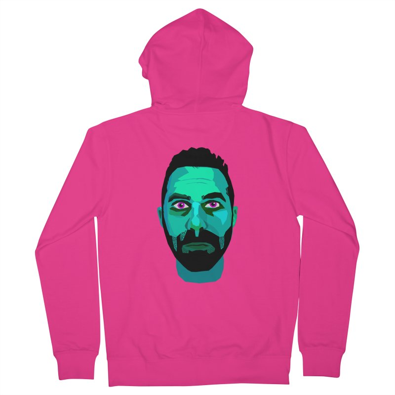 Eric's Face Men's Zip-Up Hoody by Stephen Petronis's Shop