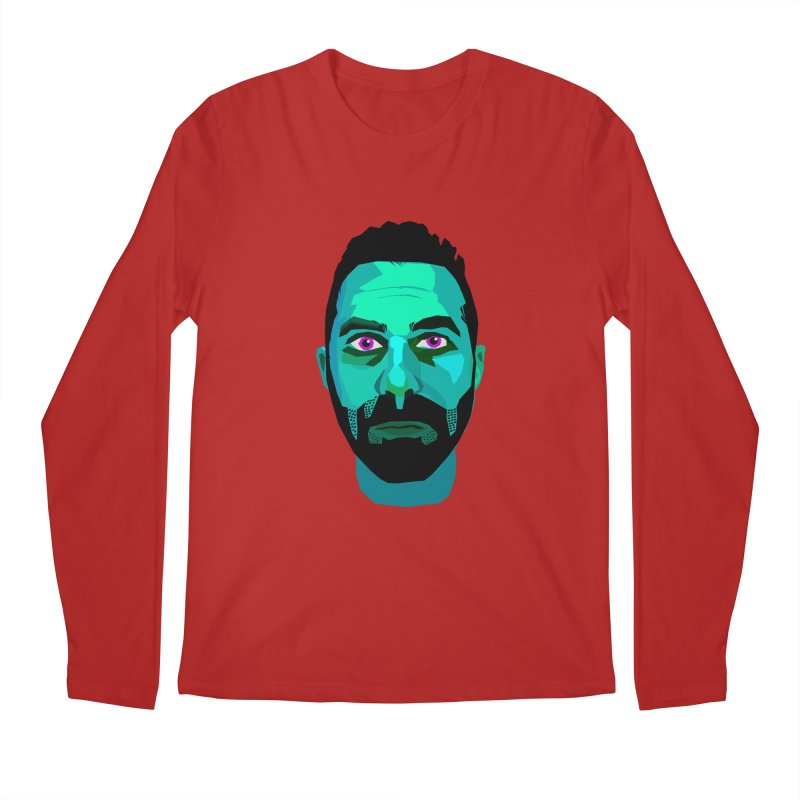 Eric's Face Men's Longsleeve T-Shirt by Stephen Petronis's Shop
