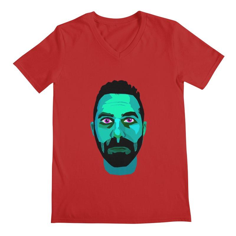 Eric's Face Men's V-Neck by Stephen Petronis's Shop
