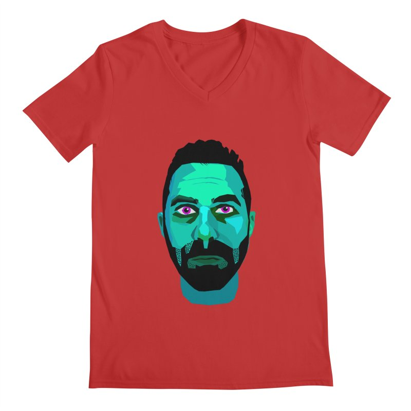 Eric's Face Men's V-Neck by Stephen Petronis's Shop