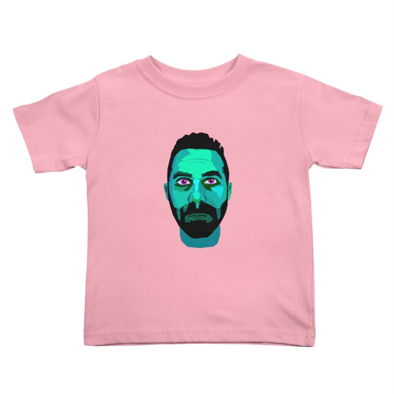 Eric's Face Kids Toddler T-Shirt by Stephen Petronis's Shop