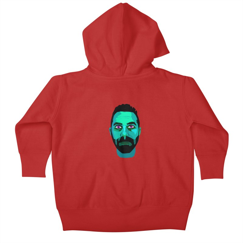 Eric's Face Kids Baby Zip-Up Hoody by Stephen Petronis's Shop