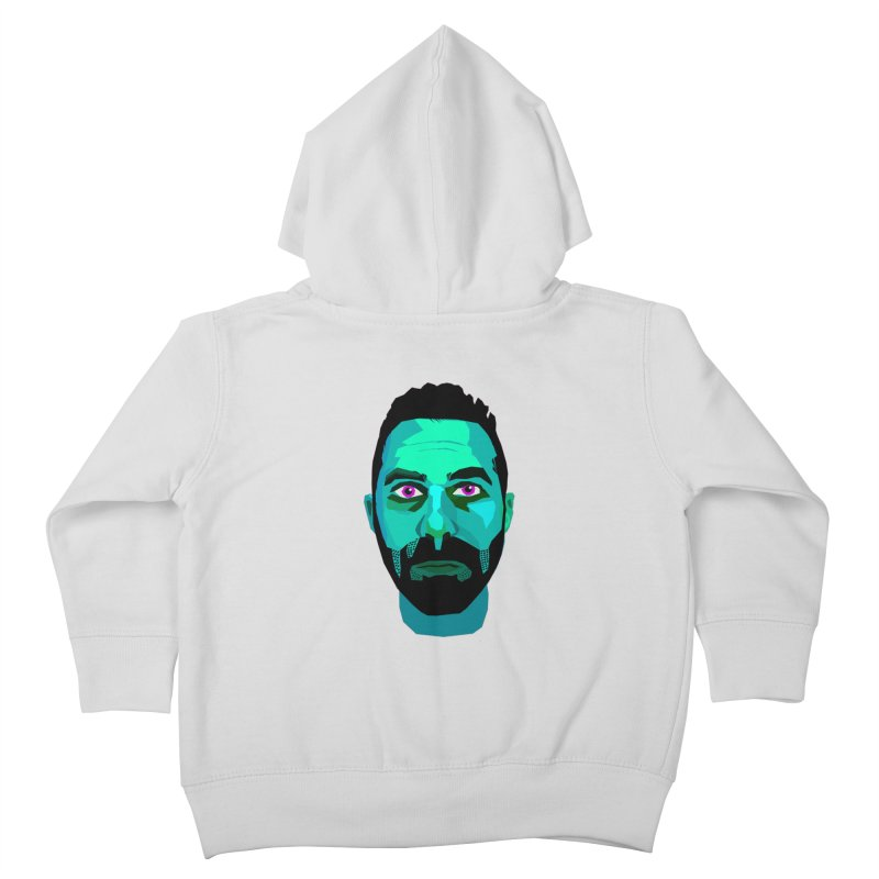 Eric's Face Kids Toddler Zip-Up Hoody by Stephen Petronis's Shop