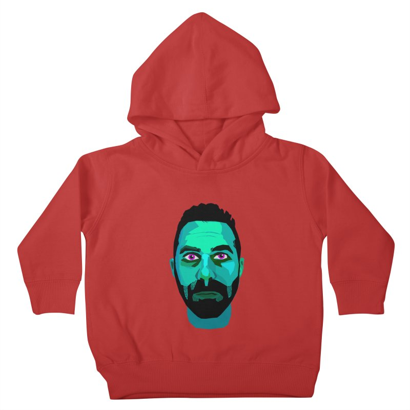 Eric's Face Kids Toddler Pullover Hoody by Stephen Petronis's Shop