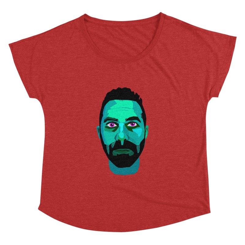 Eric's Face Women's Dolman by Stephen Petronis's Shop