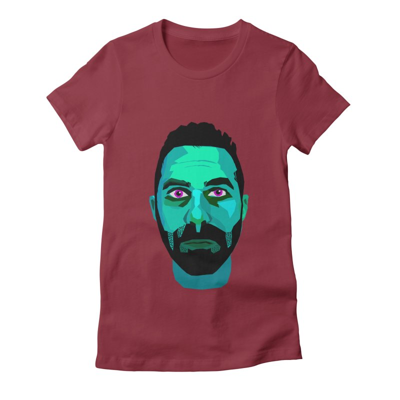 Eric's Face Women's Fitted T-Shirt by Stephen Petronis's Shop