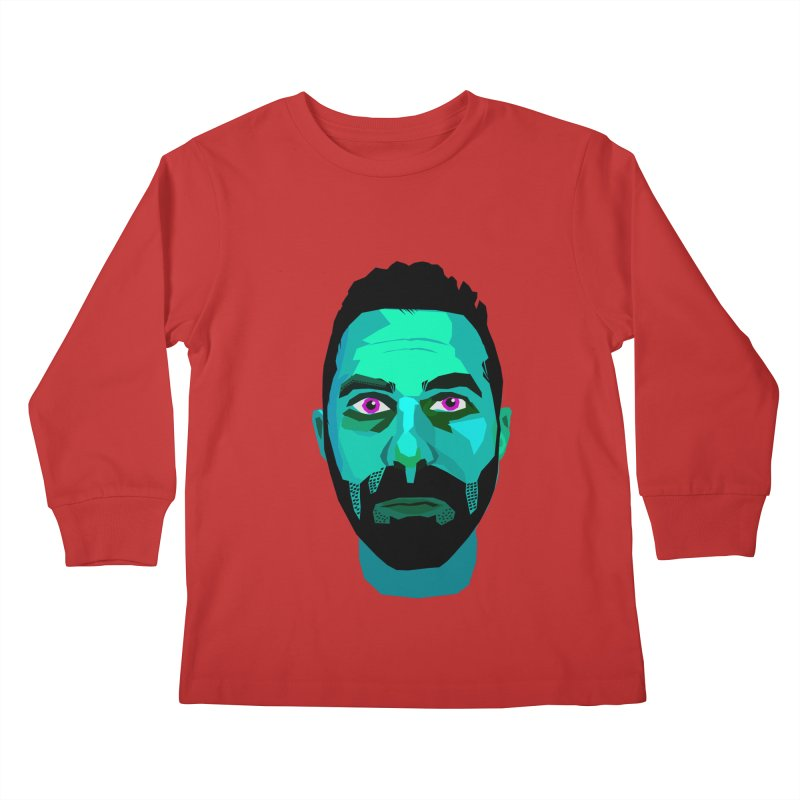Eric's Face Kids Longsleeve T-Shirt by Stephen Petronis's Shop