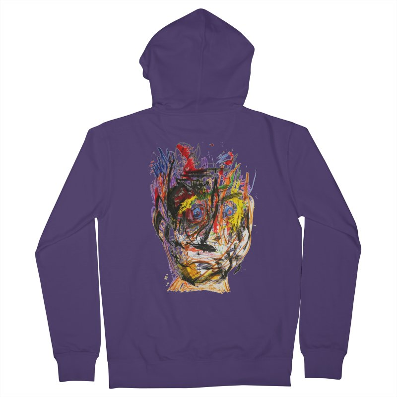Scribble Scrabble Women's Zip-Up Hoody by Stephen Petronis's Shop