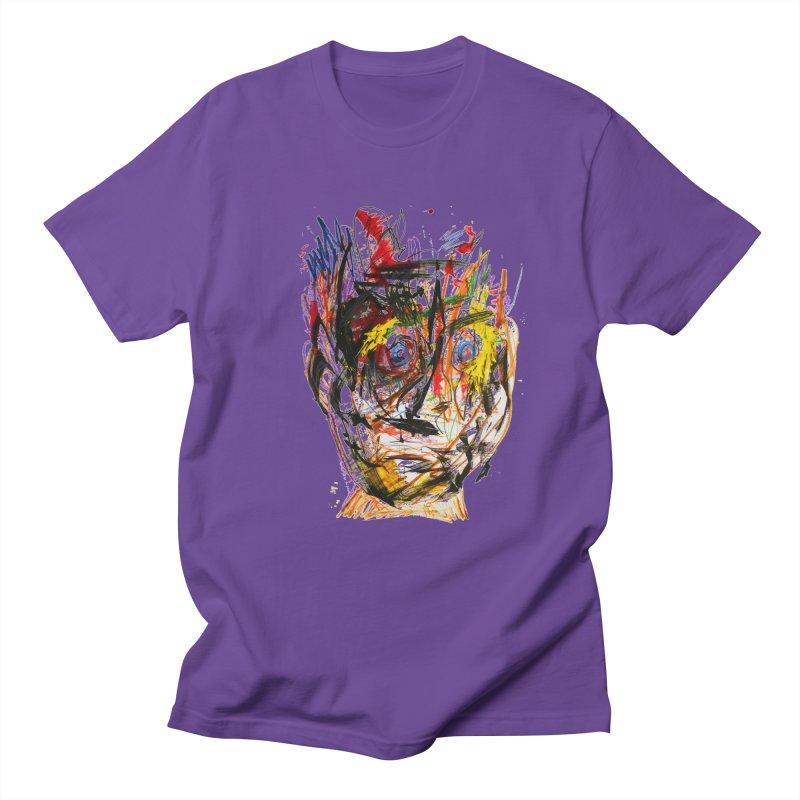 Scribble Scrabble Men's T-shirt by Stephen Petronis's Shop