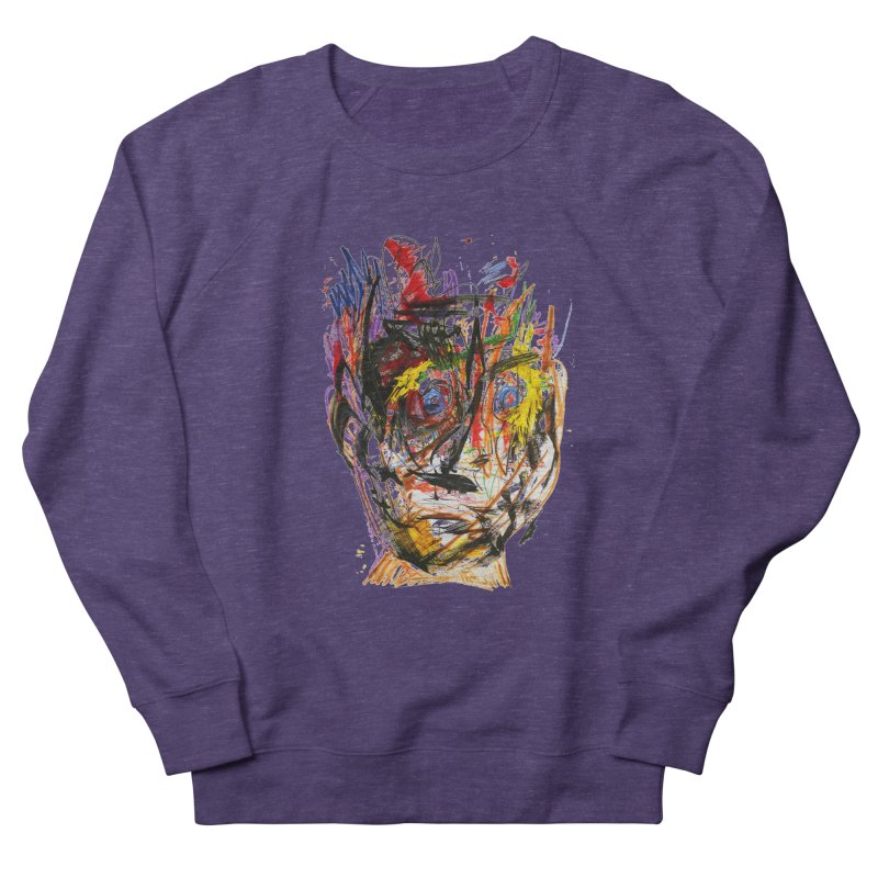 Scribble Scrabble Men's Sweatshirt by Stephen Petronis's Shop