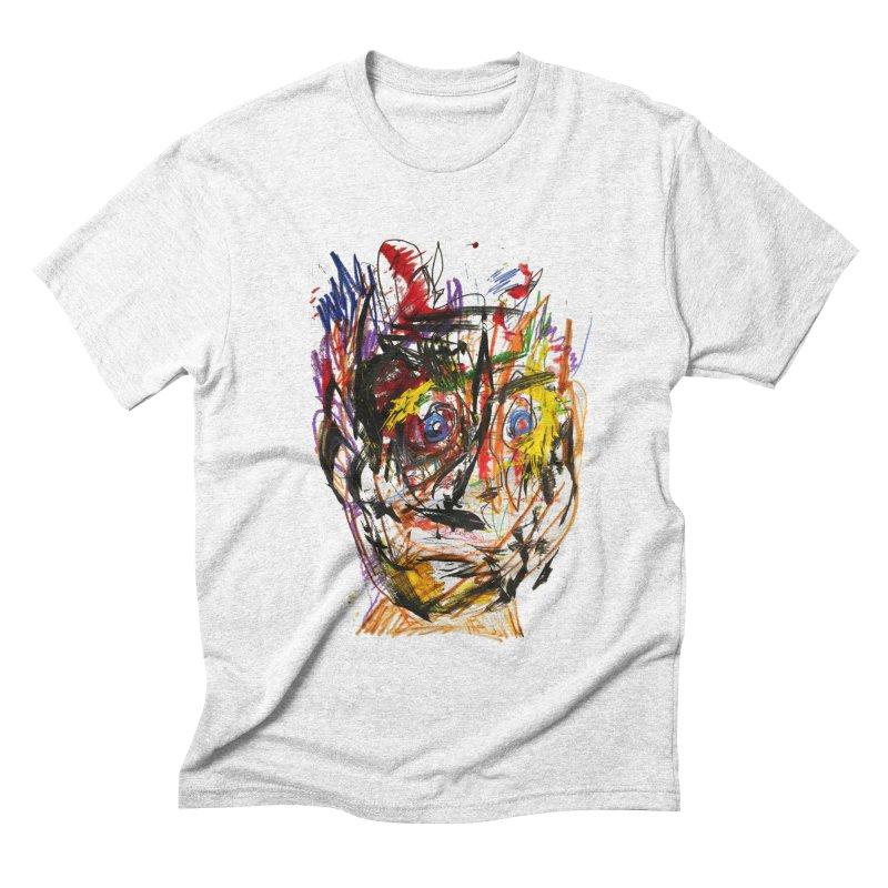 Scribble Scrabble Men's Triblend T-shirt by Stephen Petronis's Shop
