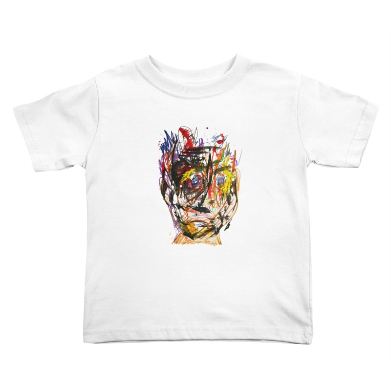 Scribble Scrabble Kids Toddler T-Shirt by Stephen Petronis's Shop