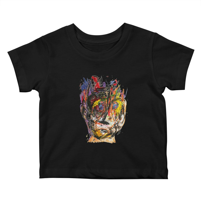Scribble Scrabble Kids Baby T-Shirt by Stephen Petronis's Shop