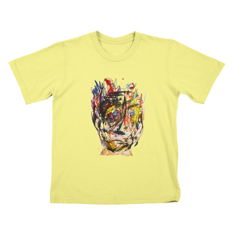 Scribble Scrabble Kids T-shirt by Stephen Petronis's Shop