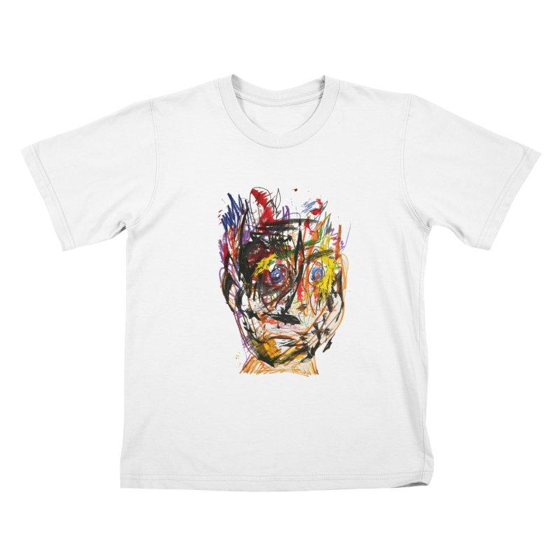 Scribble Scrabble Kids T-Shirt by Stephen Petronis's Shop