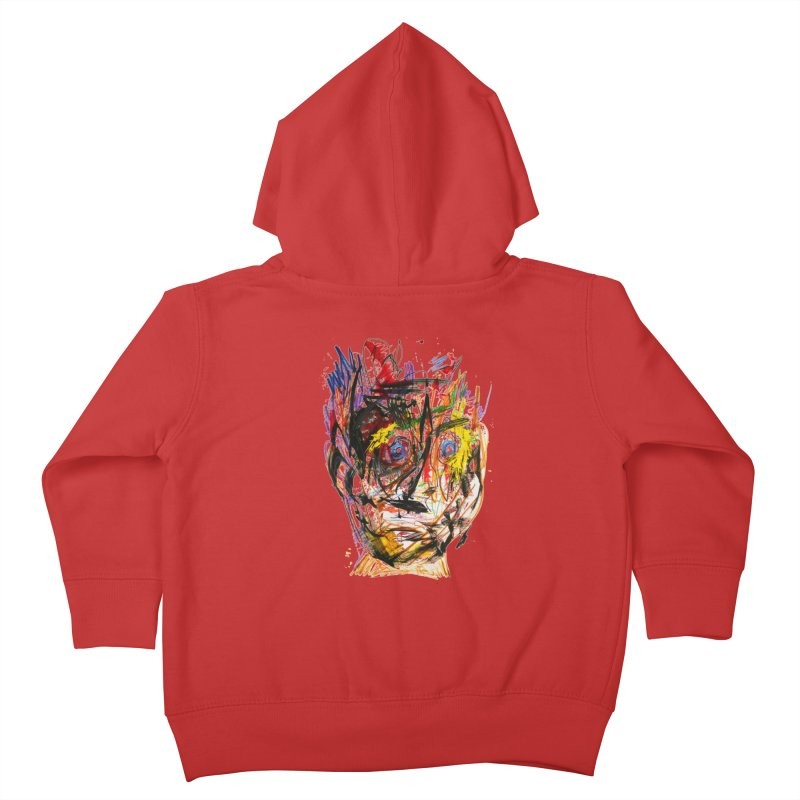 Scribble Scrabble Kids Toddler Zip-Up Hoody by Stephen Petronis's Shop
