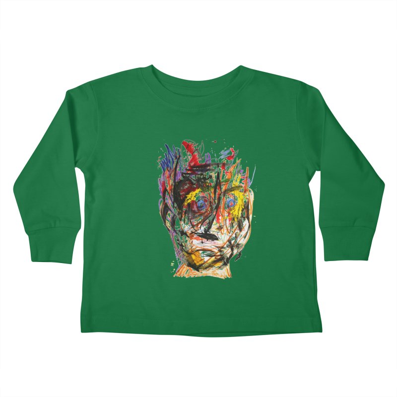 Scribble Scrabble Kids Toddler Longsleeve T-Shirt by Stephen Petronis's Shop