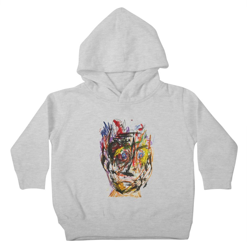 Scribble Scrabble Kids Toddler Pullover Hoody by Stephen Petronis's Shop