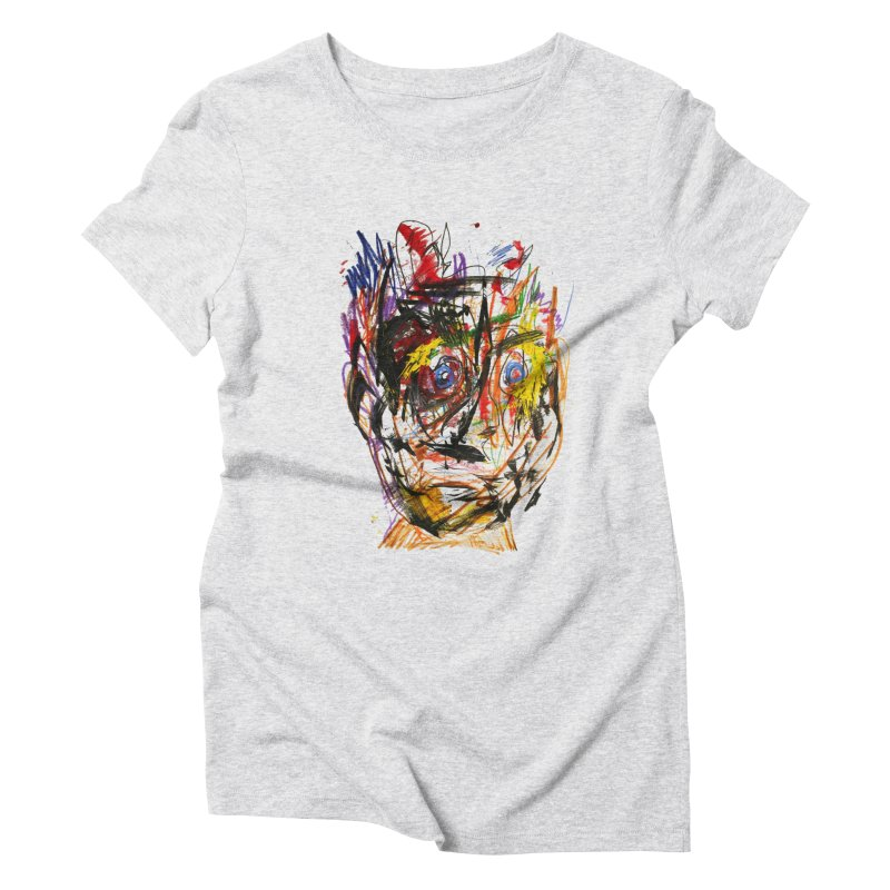 Scribble Scrabble Women's Triblend T-Shirt by Stephen Petronis's Shop