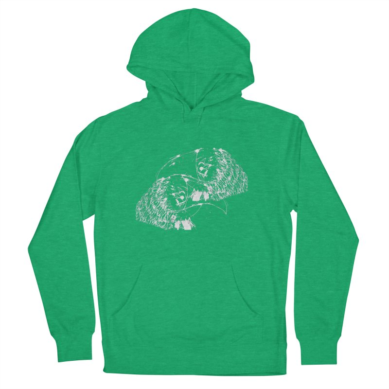 Birds OF a Feather (white) Women's Pullover Hoody by Stephen Petronis's Shop