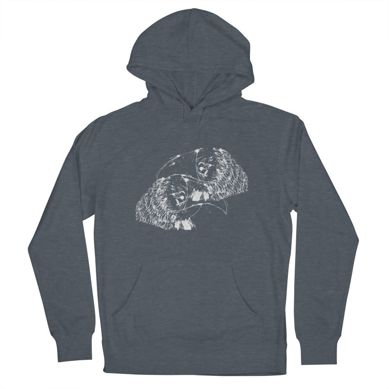 Birds OF a Feather (white) Men's Pullover Hoody by Stephen Petronis's Shop