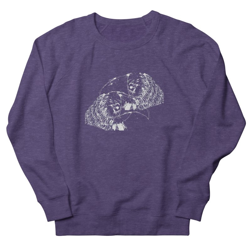 Birds OF a Feather (white) Men's Sweatshirt by Stephen Petronis's Shop