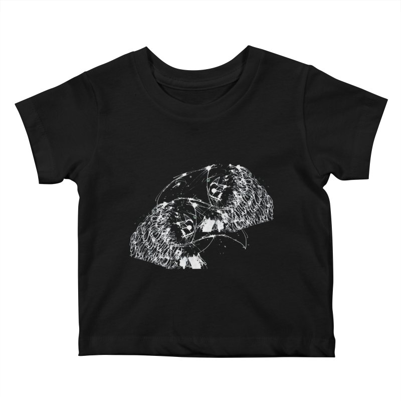Birds OF a Feather (white) Kids Baby T-Shirt by Stephen Petronis's Shop