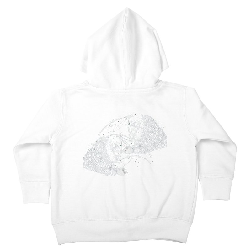 Birds OF a Feather (white) Kids Toddler Zip-Up Hoody by Stephen Petronis's Shop