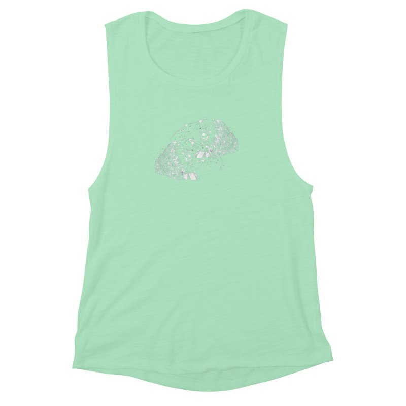 Birds OF a Feather (white) Women's Muscle Tank by Stephen Petronis's Shop