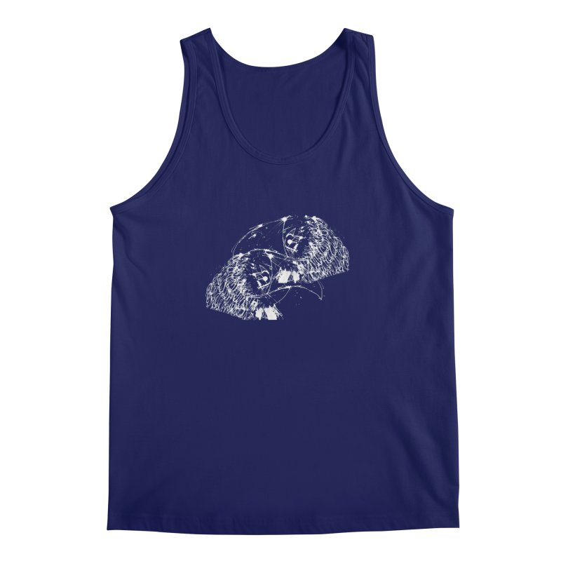 Birds OF a Feather (white) Men's Tank by Stephen Petronis's Shop