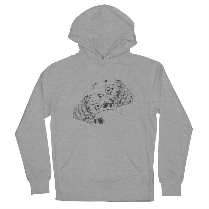 Birds Of A Feather (black) Women's Pullover Hoody by Stephen Petronis's Shop